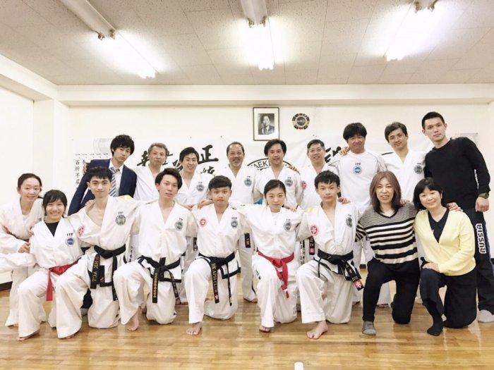 ITF-HONGKONG 蒋貞賢師賢 来日
