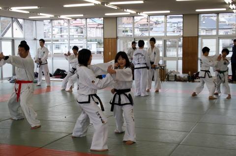 テコンドー ファラン朴道場 第24回有段者技術研究会