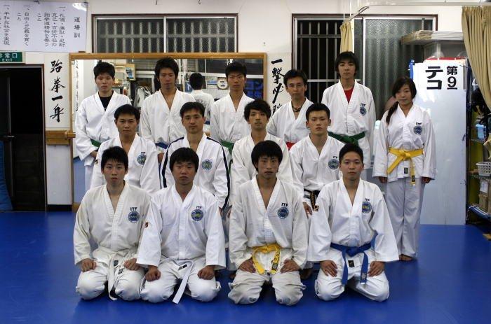 朝鮮大学 昇級審査会