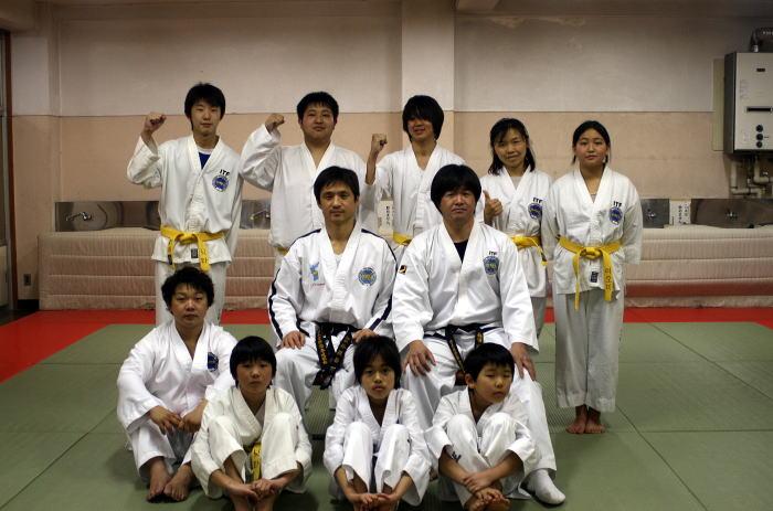 テコンドー中目黒道場 昇級審査会