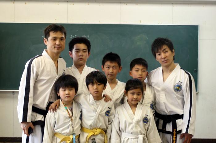 テコンドー川崎教室 昇級審査会