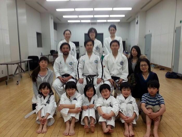中目黒道場 第1回昇級審査会・練習会