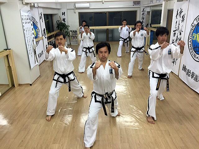 朴武館 指導者練習会・昇段祝賀会