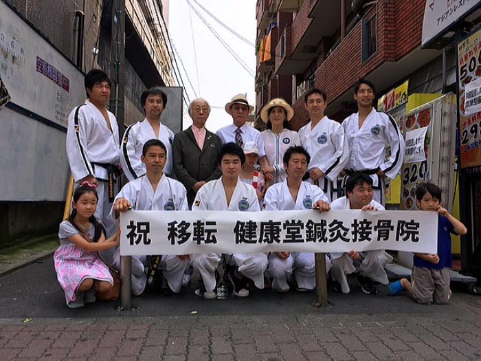 トンイルマダン東京2015 テコンドー演武