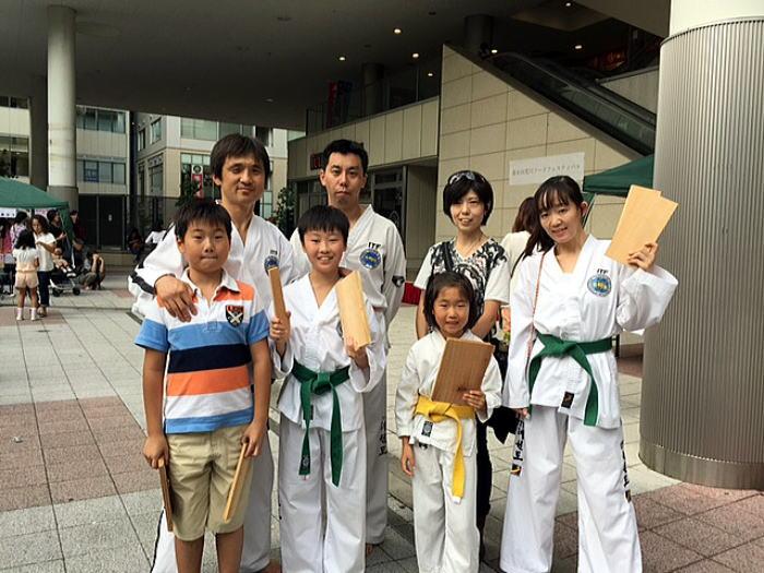 KAWASAKI大交流祭2015 テコンドー演武