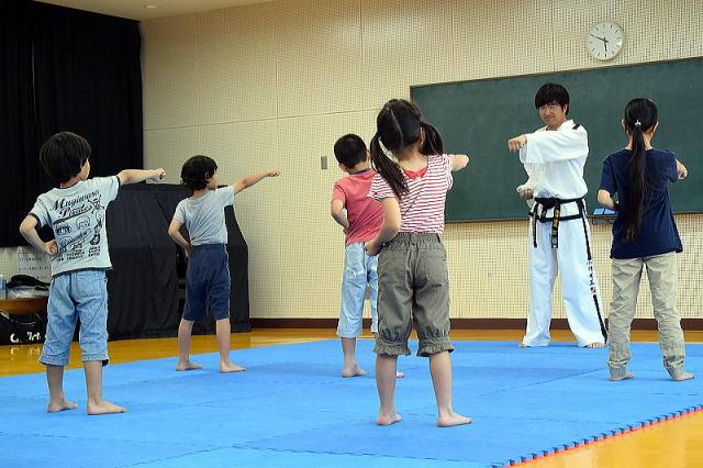 東京舎人道場 少年クラス スタート(体験練習会)