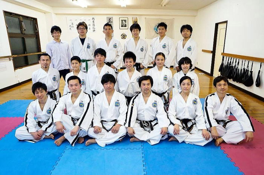 ファラン朴武館道場 第41回有段者技術研究会(戸田道場)