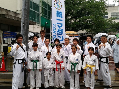 健康鍼灸接骨院 開業祝賀会 テコンドー体験会