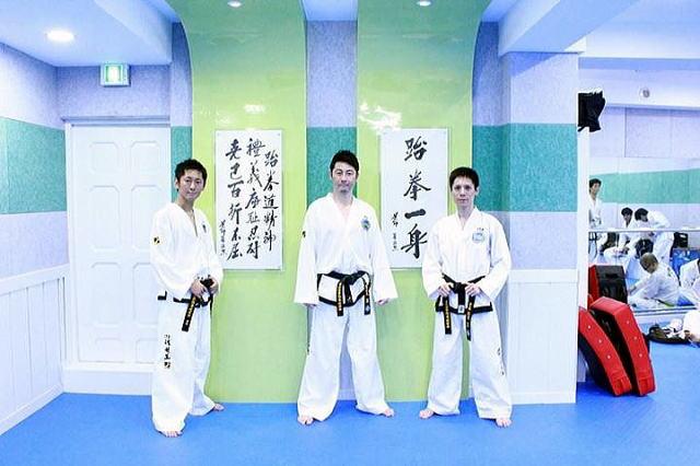 名古屋道場 有段者 ITF-KOREA訪問・出稽古