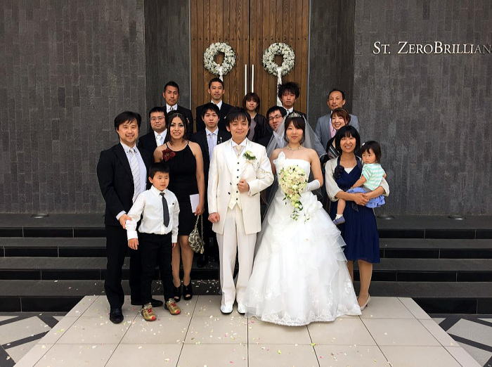 戸田道場 大森健史1段・侑希菜さん 結婚披露宴