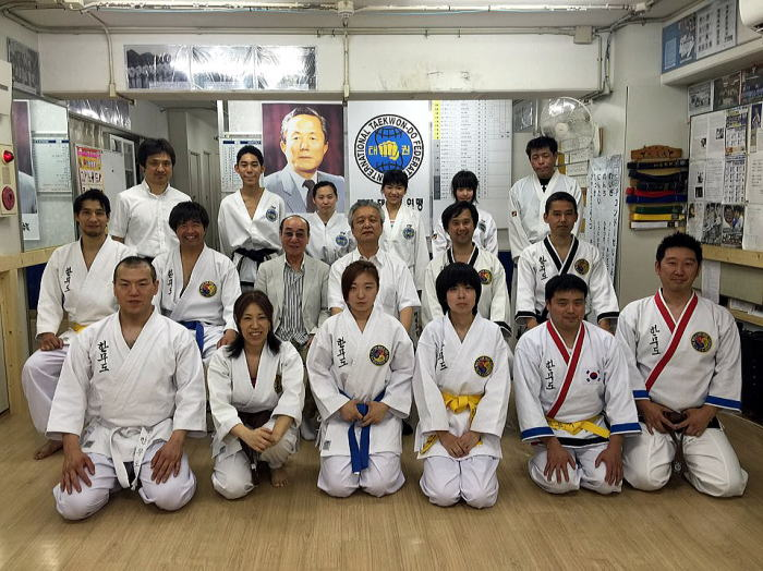 ハンムド-クラス第7回昇級審査会・朴禎賢師範 誕生お祝い会