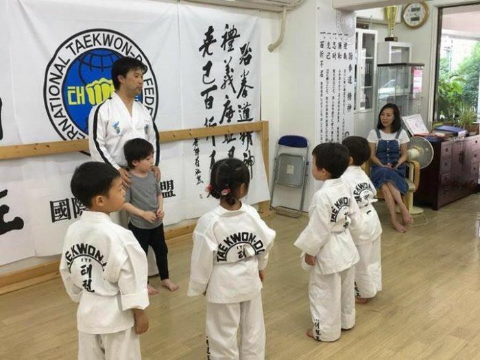 戸田道場幼年クラス