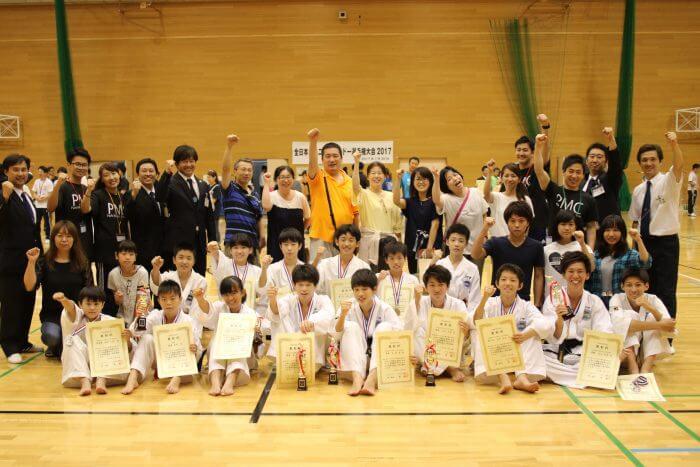 全日本ジュニアテコンドー選手権大会2017