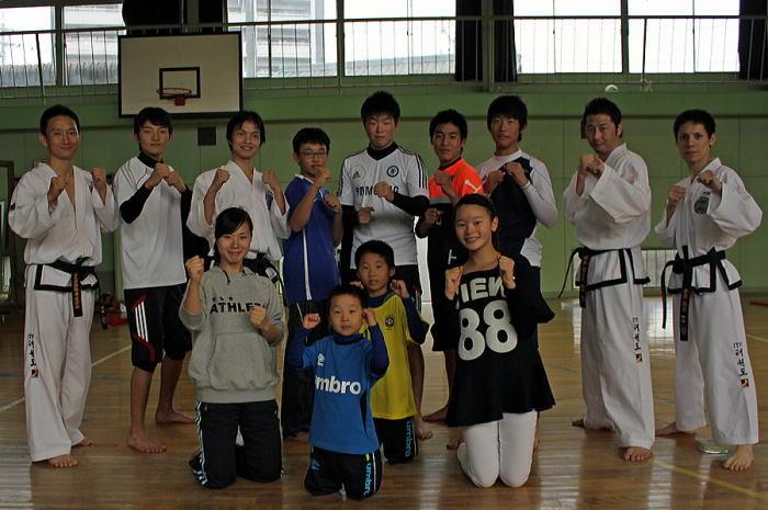 ワイワイ カップ2013 テコンドー体験・演武