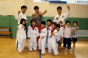 NEW INTERNATIONAL SCHOOL会報にテコンドー掲載