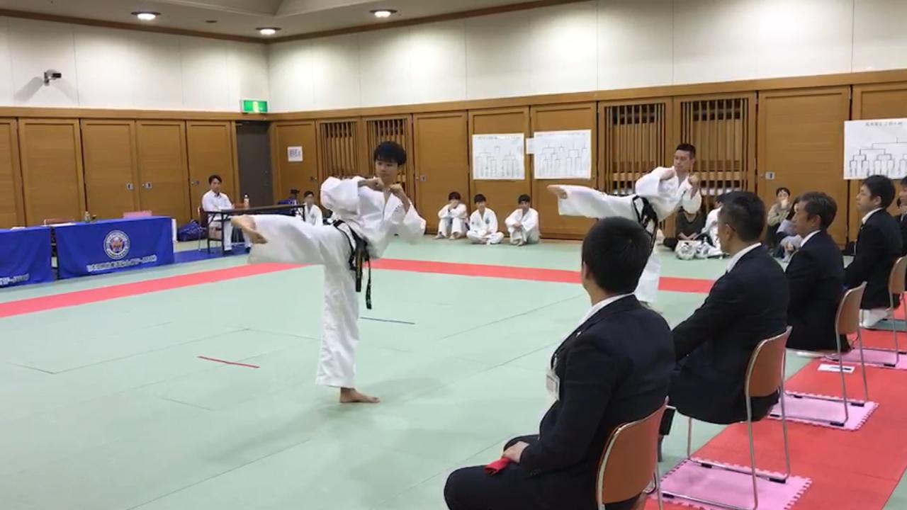 第6回阪神テコンドー選手権大会