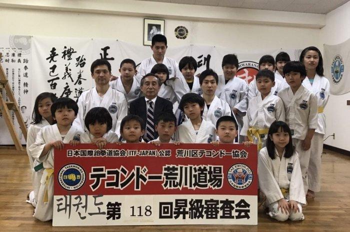 名古屋道場 昇級審査