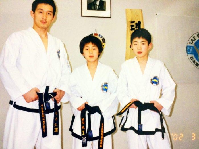 小学生1年生から始めたテコンドー(松井新吾) Part1