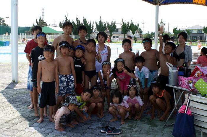 高崎道場 少年プール会2012