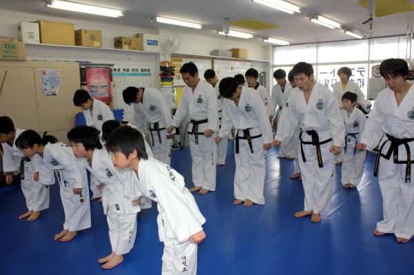 テコンドー埼玉道場 第57回昇級審査会