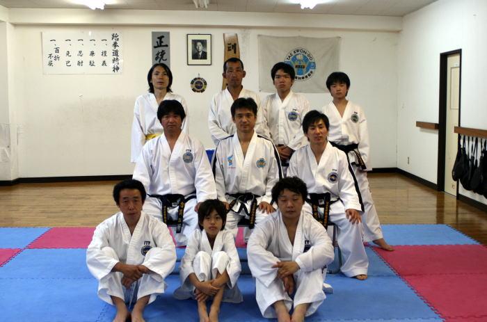 テコンドー ファラン朴道場 第34回有段者技術研究会