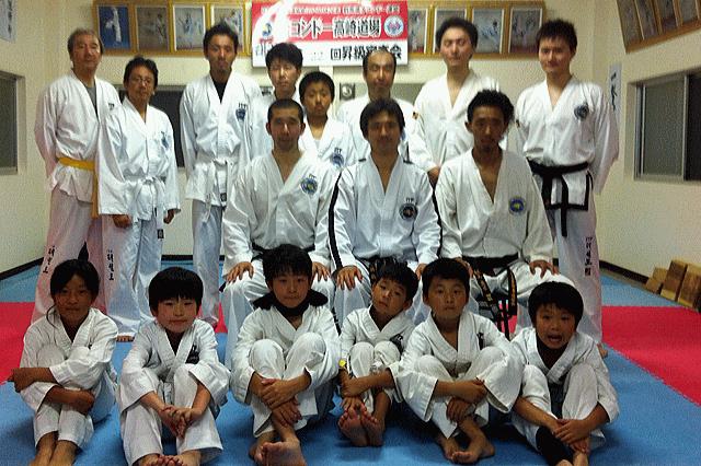 テコンドー高崎道場 ファミリー交流会2014