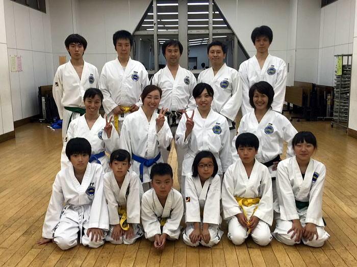 中目黒道場 昇級審査会