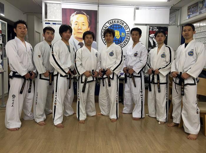 ファラン朴武館 第59回有段者技術研会