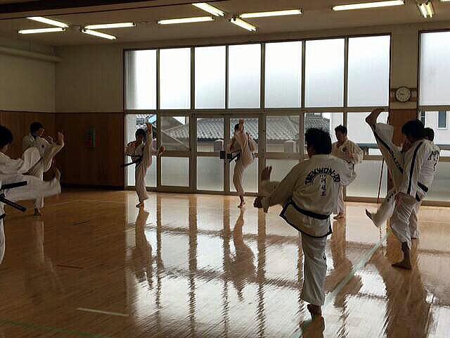 第14回群馬県テコンドー選手権大会