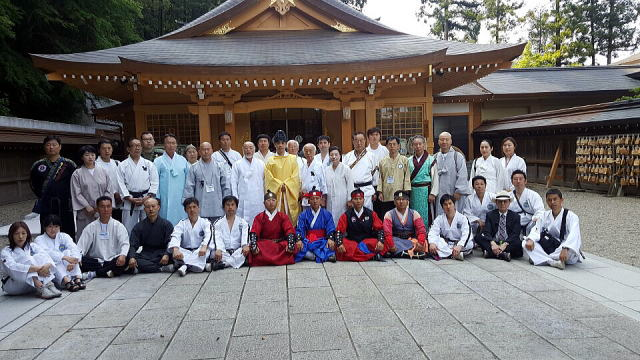 トンイルマダン東京2016 テコンドー演武