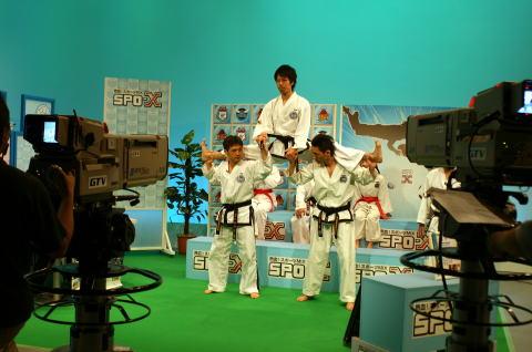 群馬テレビ 「熱血スポーツMIX SPO-X」 出演①
