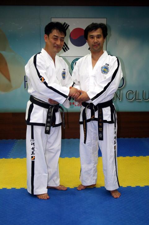 韓国(ITF-KOREA)ソウル 赫武テコンドー道場 訪問、稽古参加