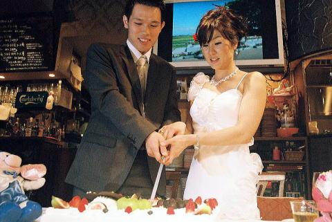 姜昇利副師範・木村志穂副師範 結婚祝会