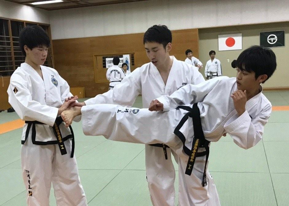 小学1年生から始めたテコンドー(松井新吾) LAST