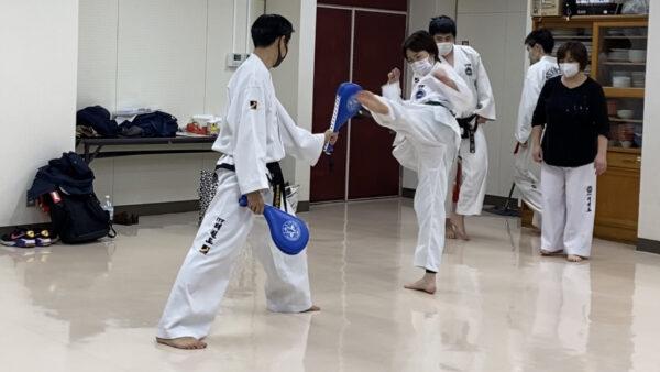 テコンドー浦和道場 稽古記録(3月)