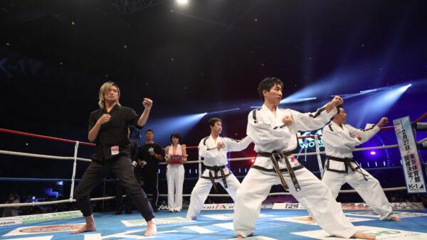 K-1 WORLD GP 2021 JAPAN テコンドー演武